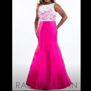 Rachel Allan Curves Mermaid Prom dress